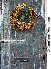 Old door  - Old Door in French Quarter of New Orleans.