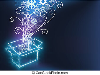 Christmas with Gift Box