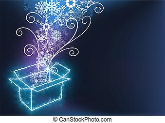 Christmas with Gift Box