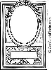 Vector Victorian Frame