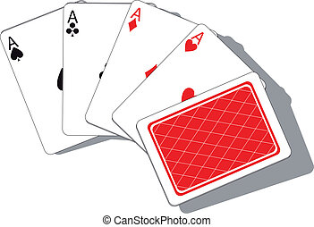 Playing card set 01 - Vector. Playing card set 01