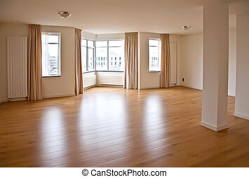 empty room - Interior of empty living space