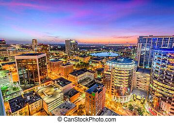 Orlando Florida Cityscape