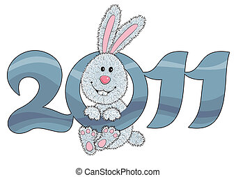 Rabbit - symbol of 2011 year