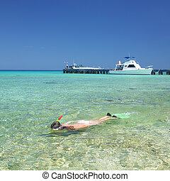 snorkeling, Maria la Gorda, Cuba - snorkeling, Maria la...