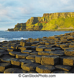 Giant Causeway, County Antrim, Northern Ireland - Giant's...