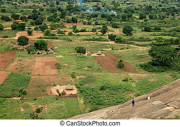 Rural Area - Uganda, Africa - Tididiek Rock in Uganda - The...