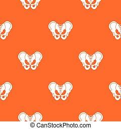 Pelvis pattern seamless - Pelvis pattern repeat seamless in...