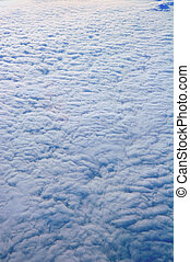 Texture of clouds