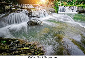Waterfalls Namtok Chet Sao Noi. - Waterfalls Namtok Chet Sao...