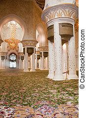 Sheikh Zayed Mosque prayer room