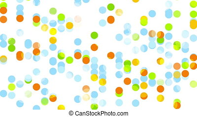 Colorful abstract circles video animation - Colorful...