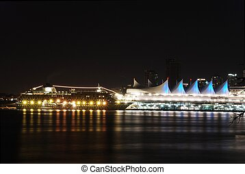 View of Stanley Park in BC Canada