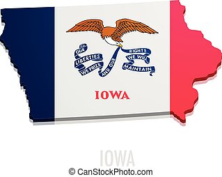 map State of Iowa
