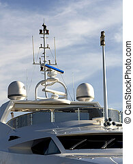 Raymarine Navigation - The navigation system of a Yacht