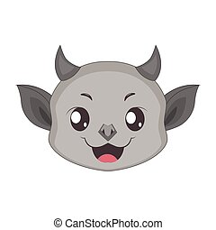 Gargoyle portrait for multiple uses, avatar, icon, other