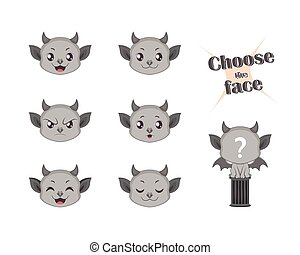 Make your own cute gargoyle set