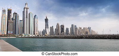 Dubai Marina View - Dubai Marina, view, one of the expensive...