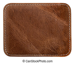brown leather texture - brown leather with seam texture or...