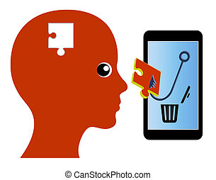 Smartphones are hijacking your mind - The human mind gets...