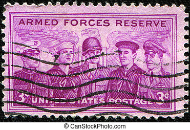 Armed Forces Reserve - UNITED STATES OF AMERICA - CIRCA...