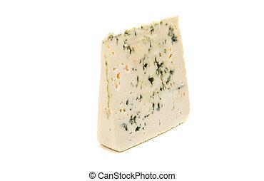 queijo azul, isolado