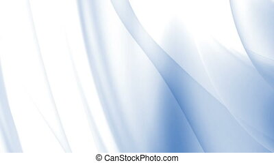 Blue subtle looping abstract swoosh background - Blue and...