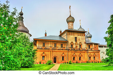 Church at Rostov Kremlin, the Golden Ring of Russia - Church...