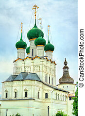 Church of John the Apostle at Rostov Kremlin, Yaroslavl...