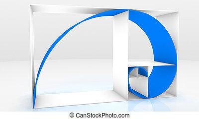Fibonacci - 3d Fibonacci sequence