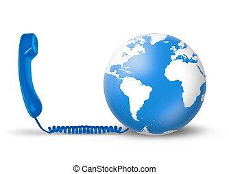 Telecommunications Concept - A Telecommunications concept...