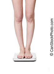 Standing on a wightscale
