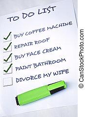 Divorce my wife