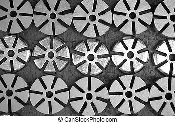 group of spare part - abstract group of spare part for...