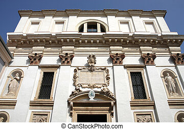 Italy - Padua Old ornate architecture, vintage landmark