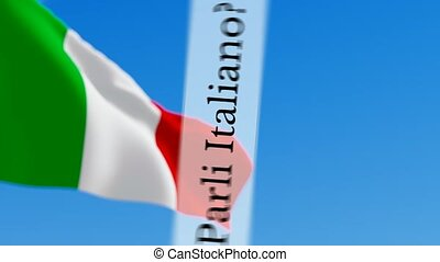 Parli Italiano / Do you speak Italian - Parli Italiano...