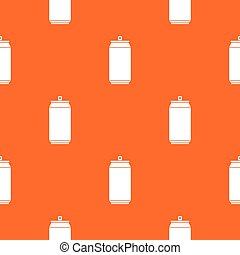 Can pattern seamless - Can pattern repeat seamless in orange...