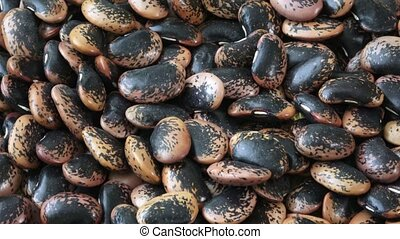 The large color beans. Proper nutrition. Vitamins. Healthy...
