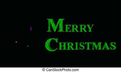 Christmas Presents - Christmas presents on a black...