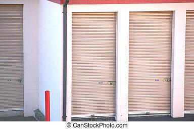 Public storage units. - Public storage units for rent.