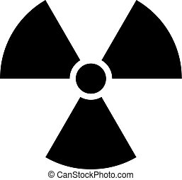 Ionising Radiation Sign Attention Danger Symbol - Use it in...