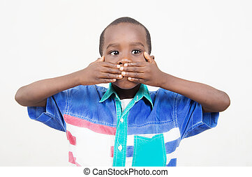 Boy held in secrecy. - This little boy decided to say...