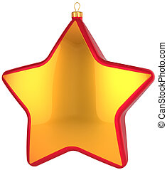Christmas star bauble (Hi-Res)