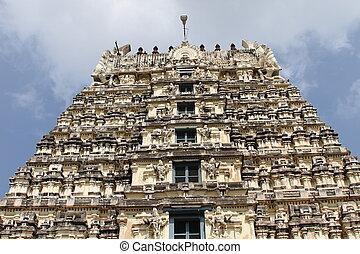 Big gopuram temple in vellore