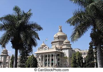 Vidhana Soudha, Bangalore, Karnataka, India,