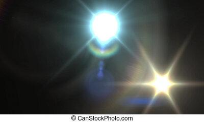 Abstract illustration of splendid spotlights - Astonishing...