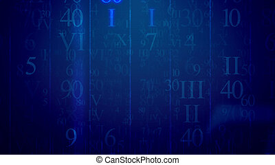 Letters in Latin and Arabic digits in cyberspace -...