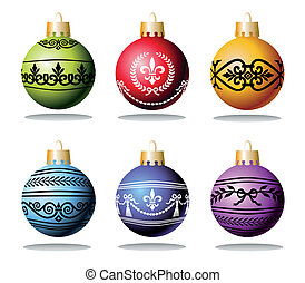 Christmas balls and ornaments