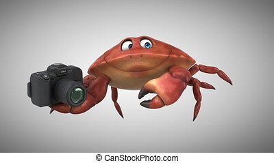Fun crab - 3D Animation
