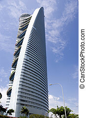 Modern Building - Image of a modern building in Kuala...